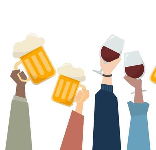 گرایش به مصرف مشروبات الکلی