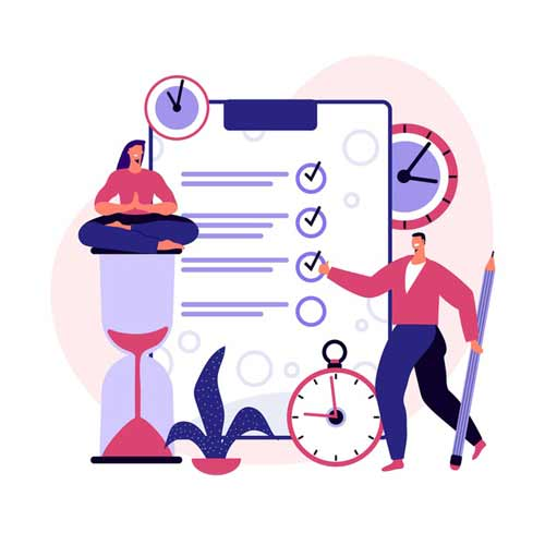 پرسشنامه ابعاد چهارگانه مدیریت زمان